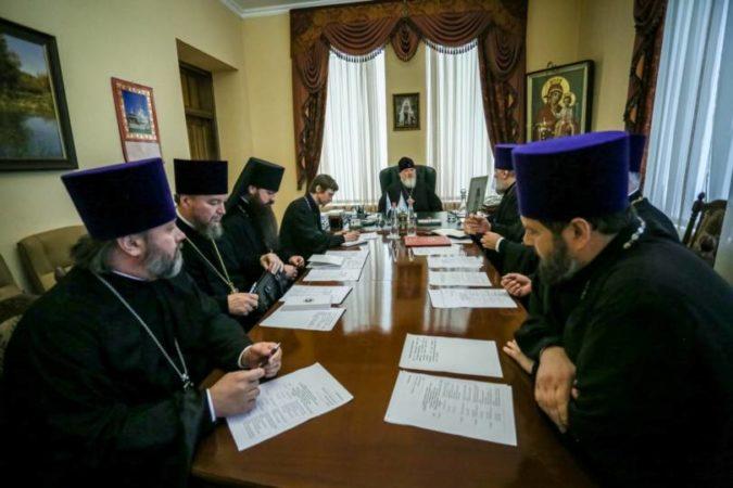 Митрополит Кирилл возглавил заседание Епархиального совета