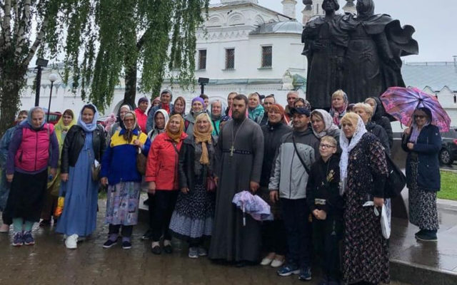 Ставропольские паломники посетили Дивеево
