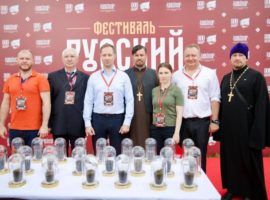 Руководитель епархиального отдела принял участие в фестивале «Русский мир»