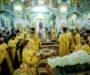 В канун дня памяти равноапостольного князя Владимира митрополит Кирилл совершил всенощное бдение во Владимирском соборе