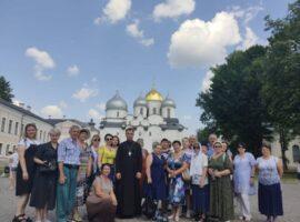 Ставропольские паломники посетили святыни Великого Новгорода и Пскова