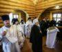 В годовщину своего монашеского пострига митрополит Кирилл совершил Божественную литургию в храме иконы Божией Матери «Нечаянная Радость»