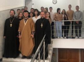 Священник встретился со студентами ставропольского вуза