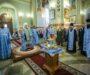 В канун праздника Рождества Пресвятой Богородицы митрополит Кирилл совершил всенощное бдение в Казанском соборе