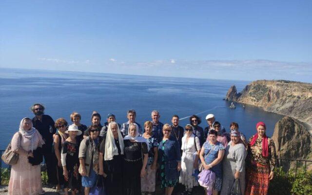 Ставропольские паломники посетили святыни Крыма