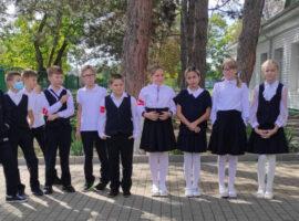 В православной гимназии Невинномысска проходит месячник по безопасности дорожного движения
