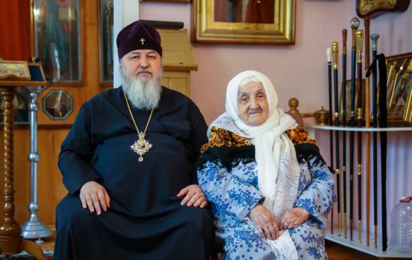 Отошла ко Господу мама митрополита Кирилла Клавдия Покровская