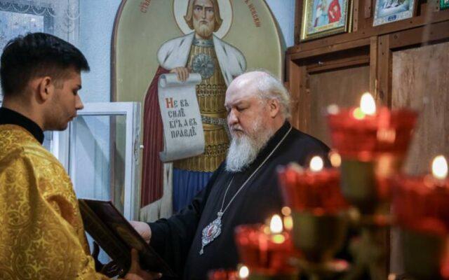 Митрополит Кирилл совершил всенощное бдение в Иоанно-Мариинском женском монастыре г. Ставрополя